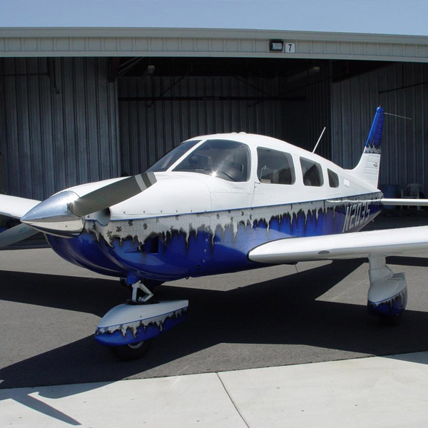 Piper PA-28-181 Custom Paint Job