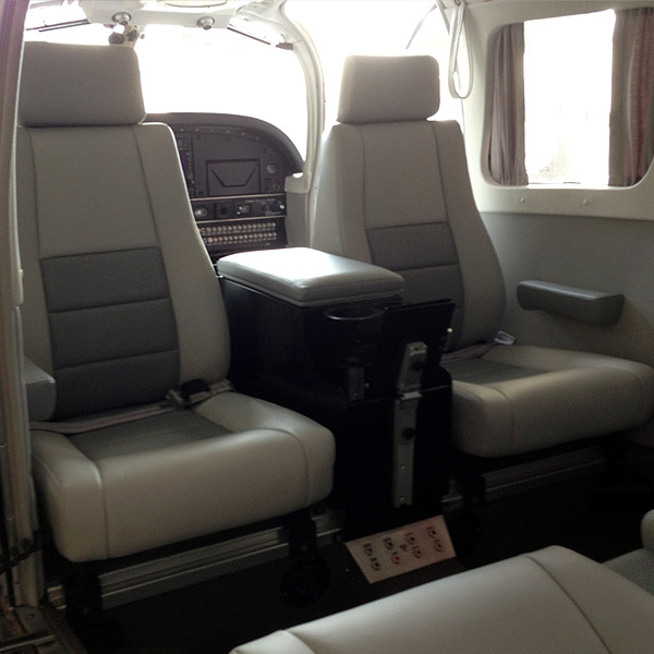 Interior Refurbishment of a Piper aircraft