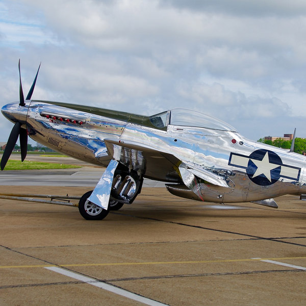 North American P-51D Special Silver Paint Job